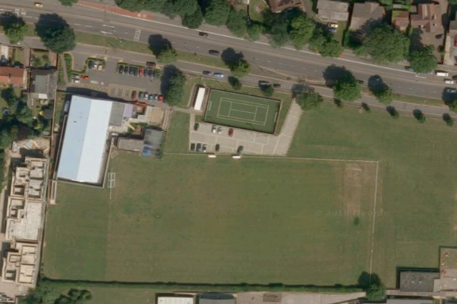 Chaul End Community Centre 11 a side | Grass football pitch