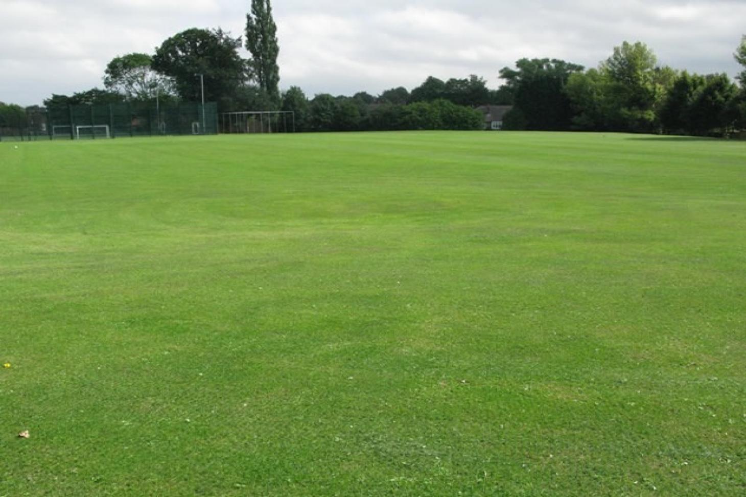 Denbigh High School Full size | Grass cricket facilities