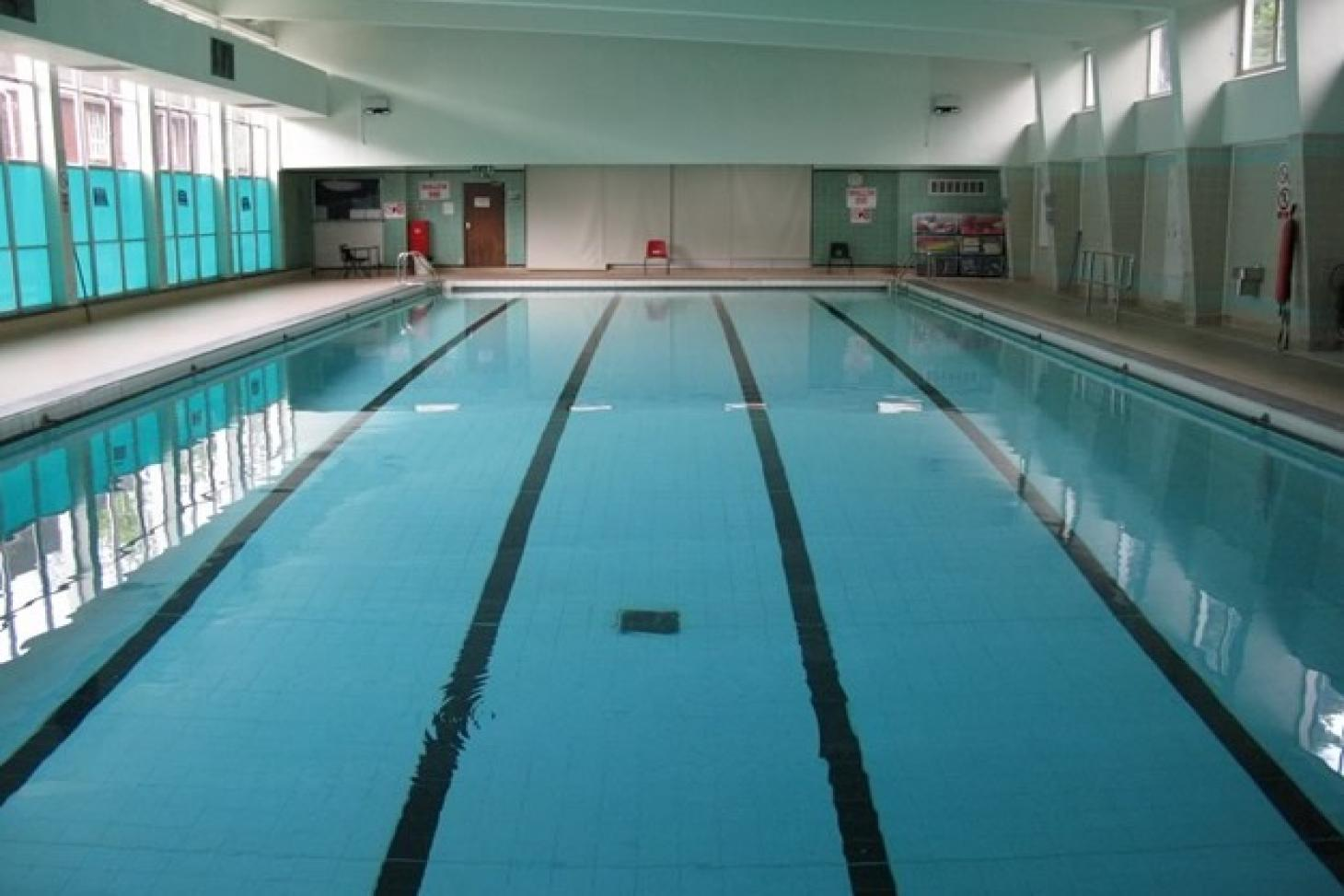 Denbigh High School Indoor swimming pool