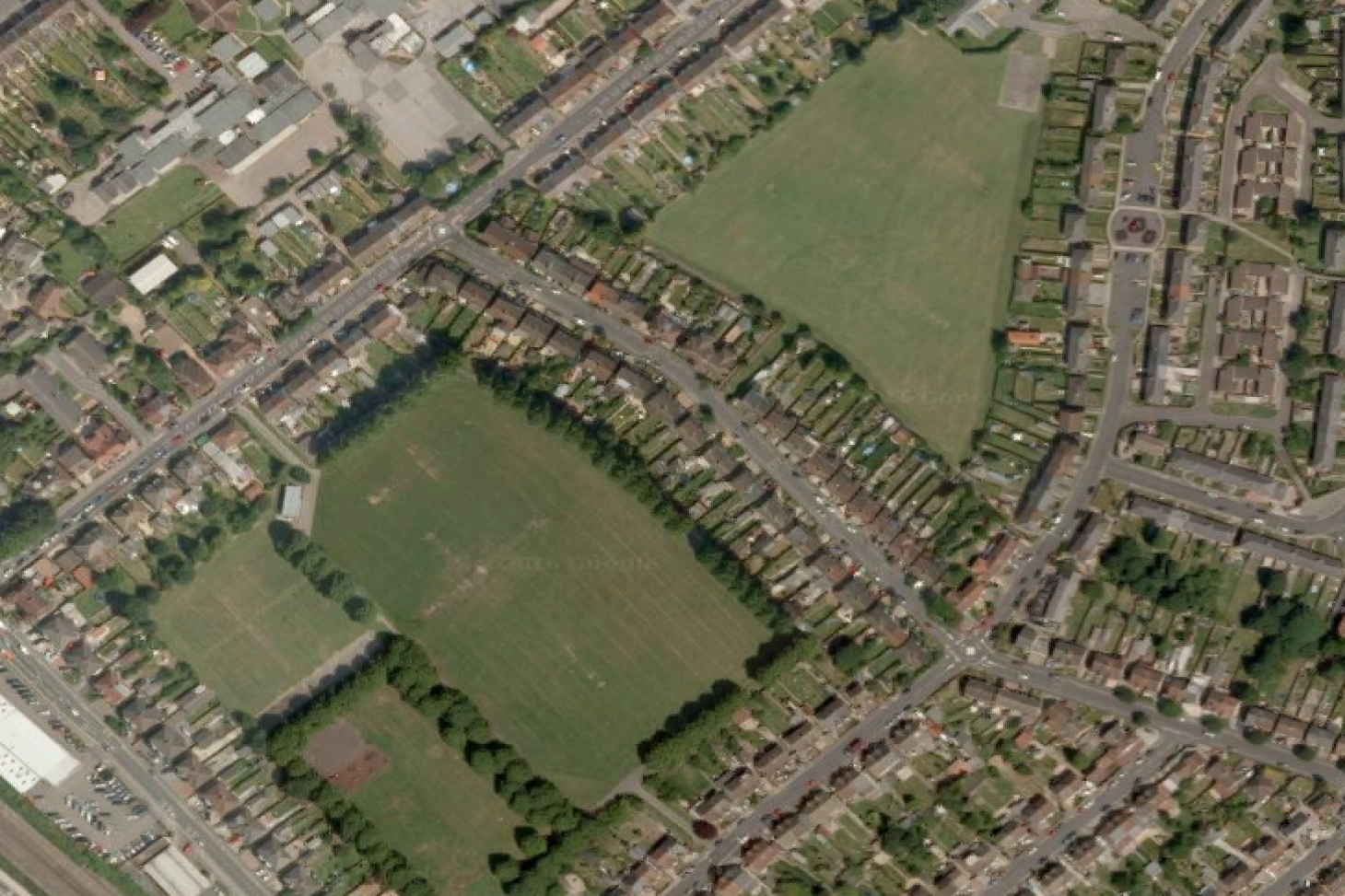 Alder Crescent Recreation Ground 11 a side | Grass football pitch