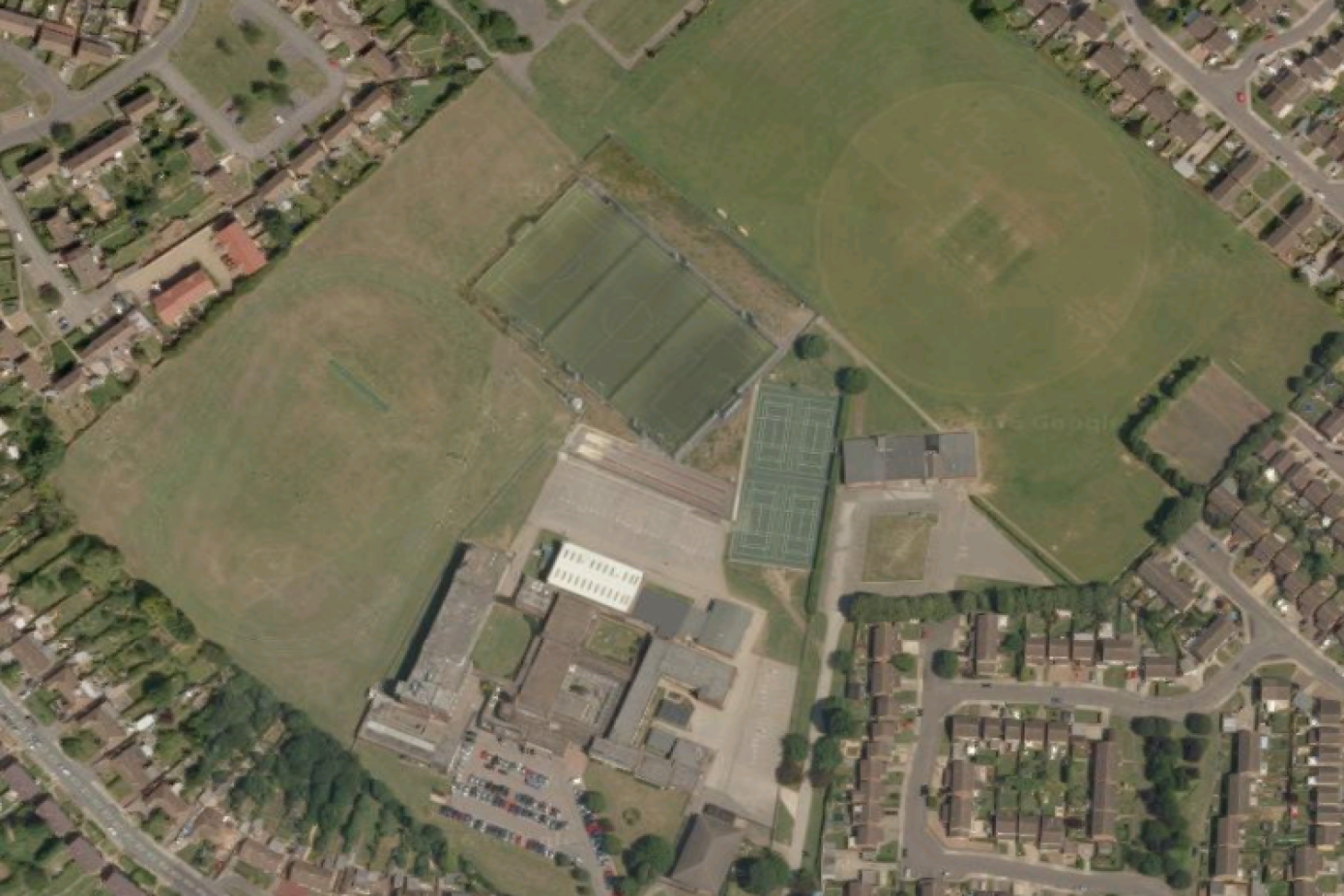 Ashcroft High School 11 a side | Grass football pitch