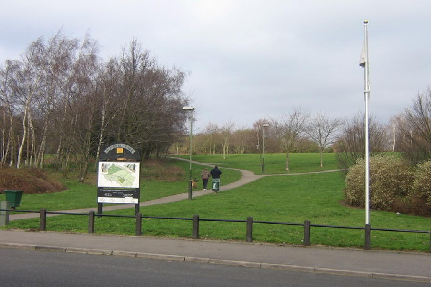 Poverest Park 11 a side   Grass football pitch