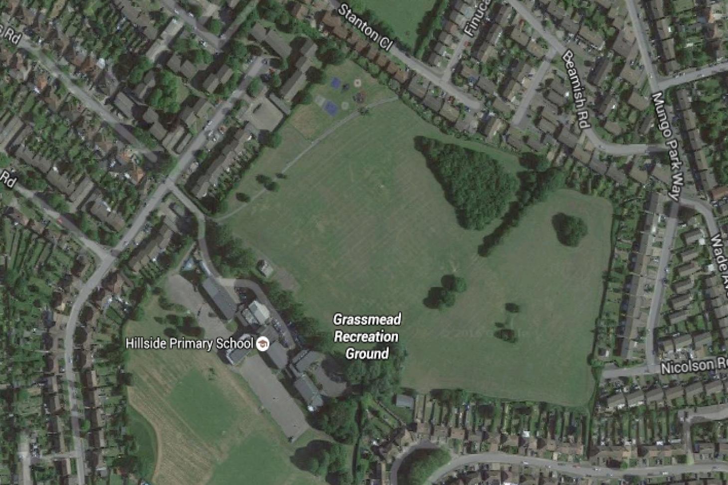 Grassmead Recreation Ground 11 a side | Grass football pitch