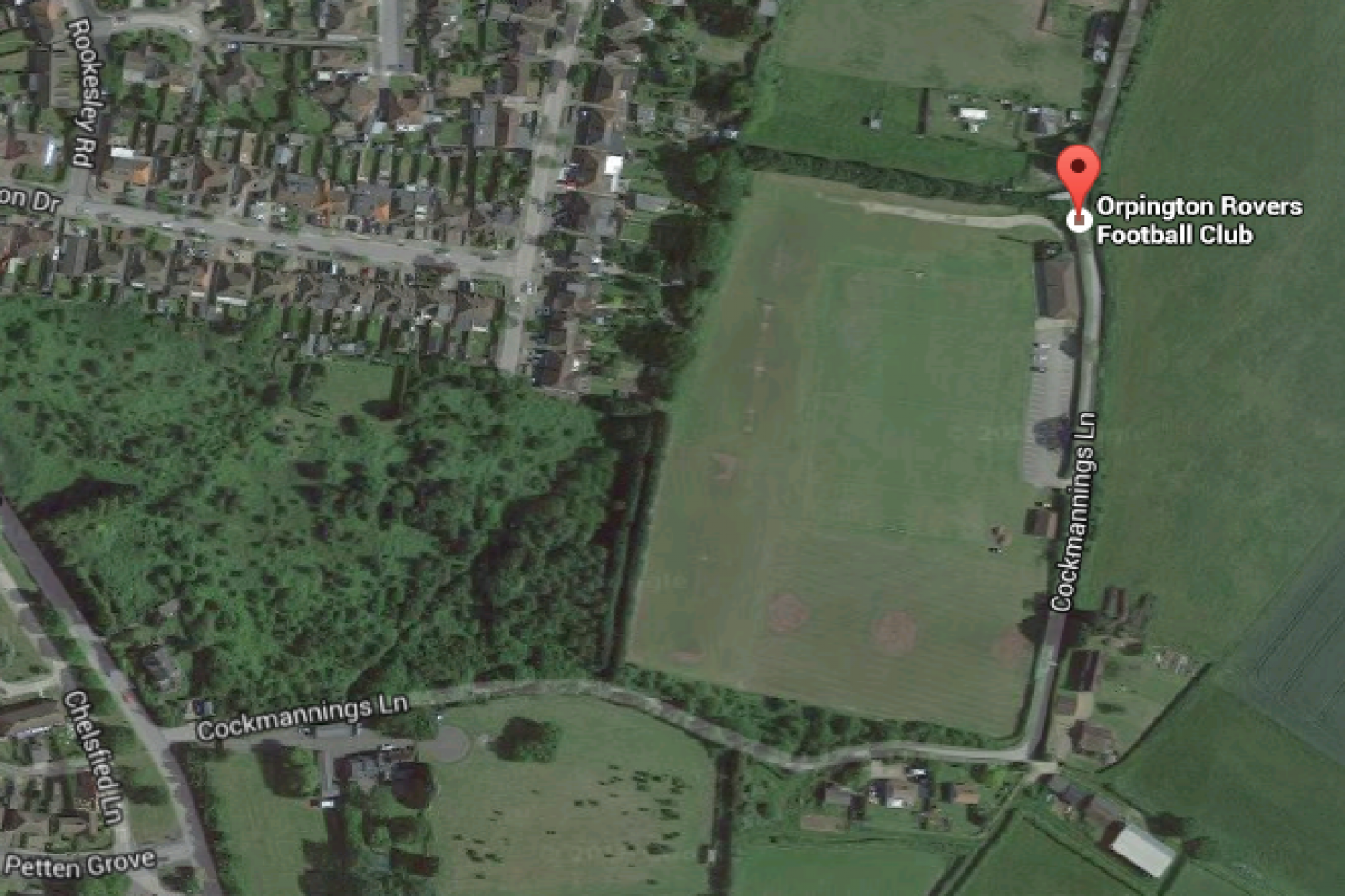 Orpington Rovers Football Club 11 a side | Grass football pitch