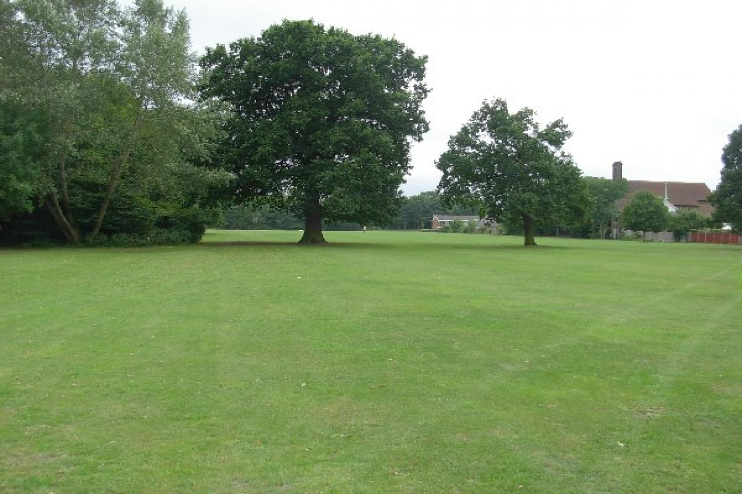 Harvington Playing Fields 11 a side | Grass football pitch
