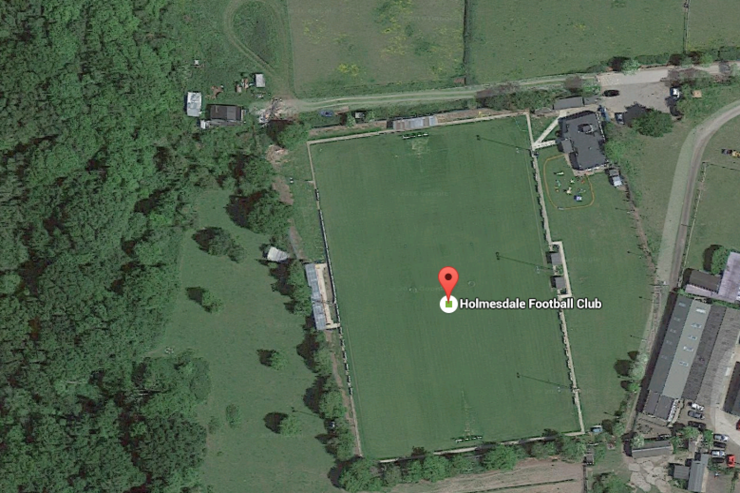 Holmesdale Football Club 11 a side | Grass football pitch