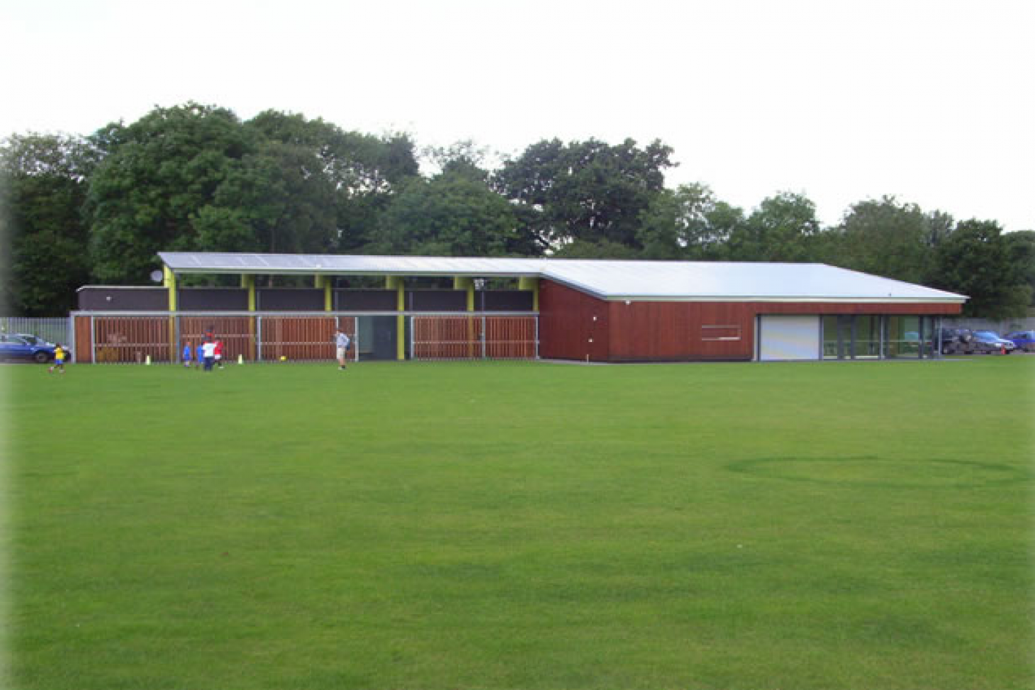 Ten Em Bee Sports Development Centre Full size | Grass cricket facilities