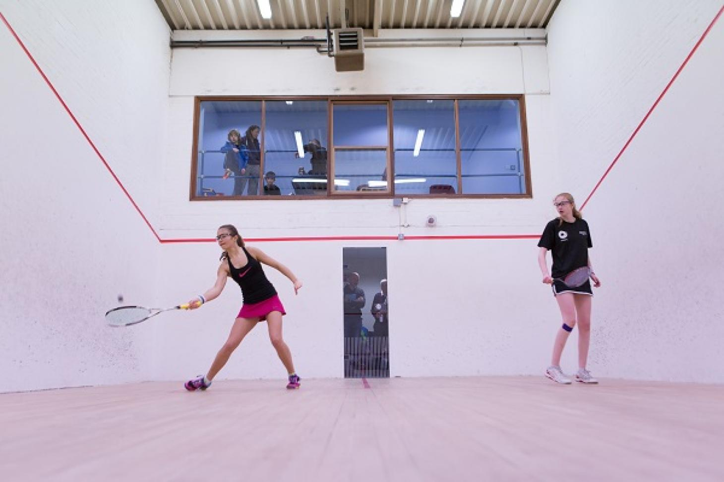 Lewsey Sports Park Indoor | Hard squash court