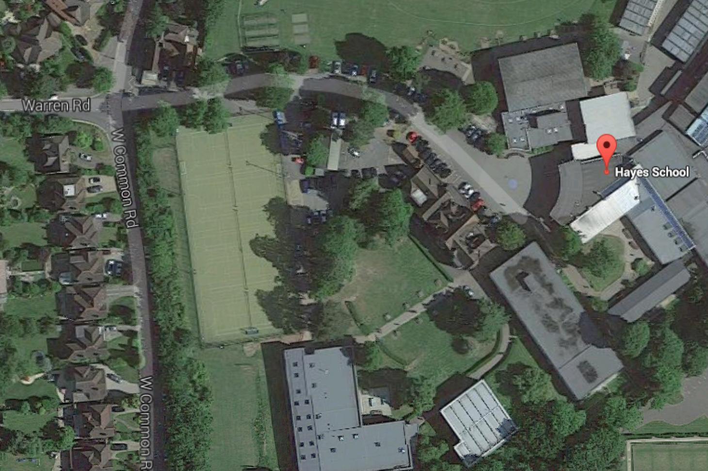 Hayes School Indoor | Hard badminton court