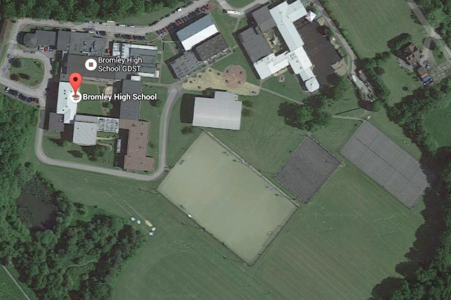 Bromley High School Indoor netball court