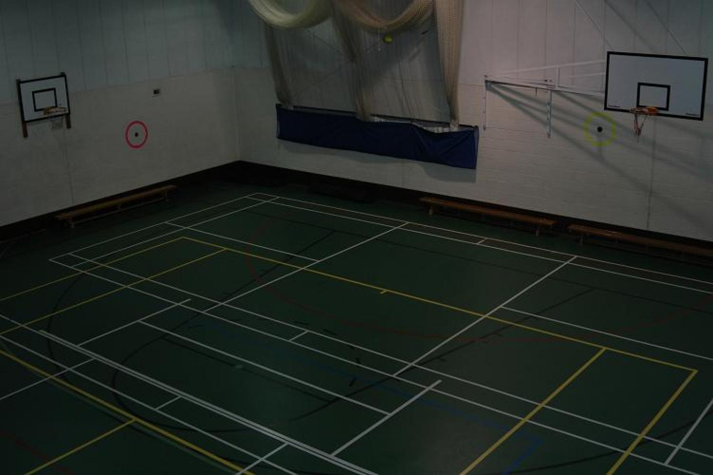 Croydon Sports Club Indoor | Hard badminton court