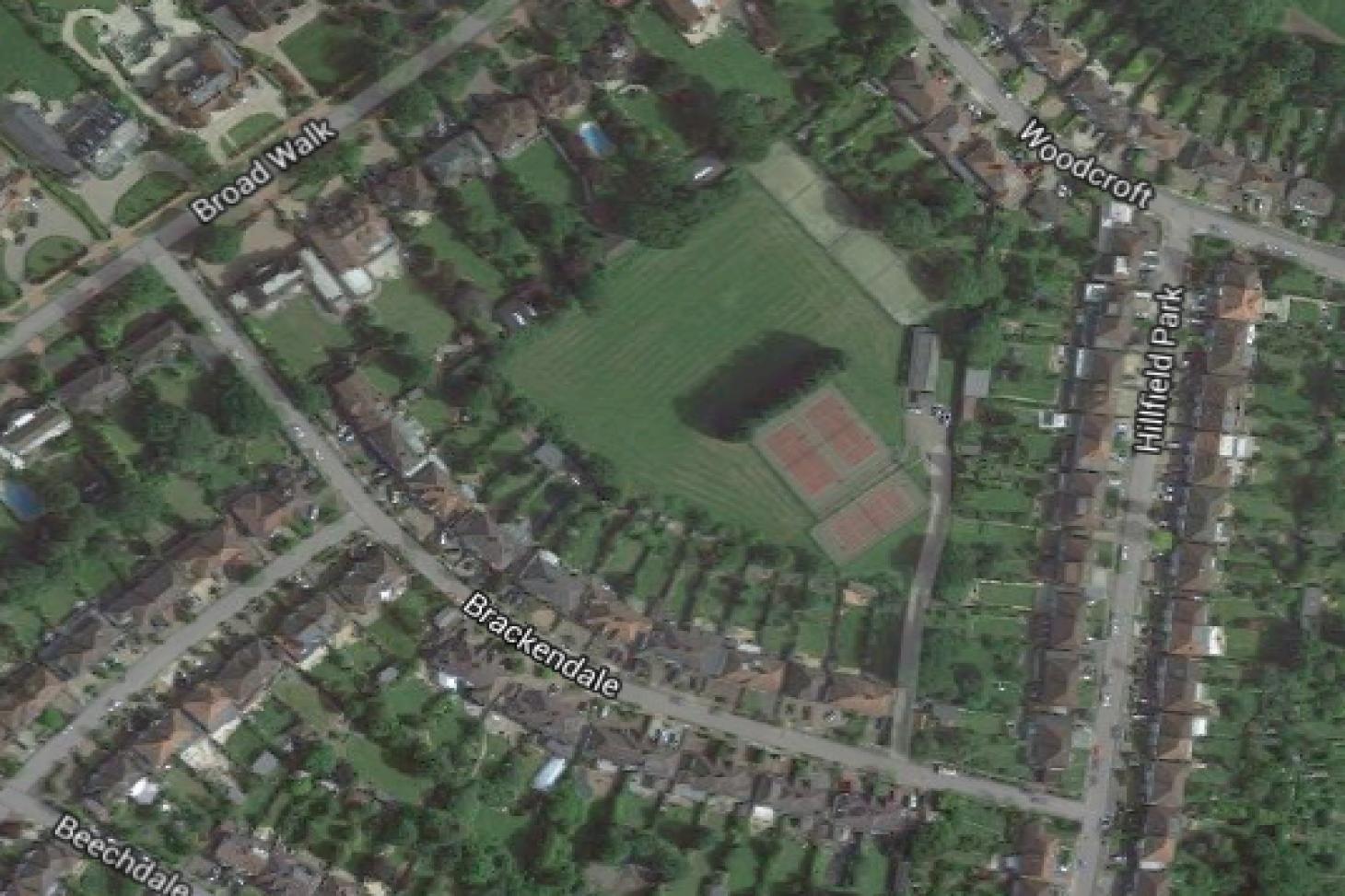 Brackendale Sports Ground 5 a side   Grass football pitch