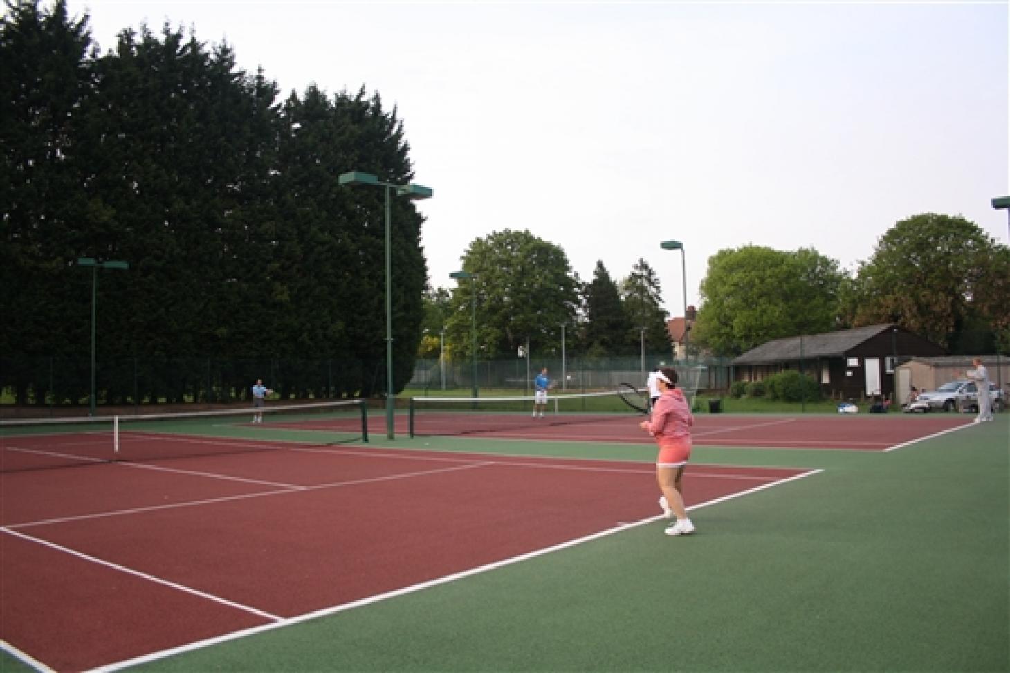 Brackendale Lawn Tennis Club Outdoor | Astroturf tennis court