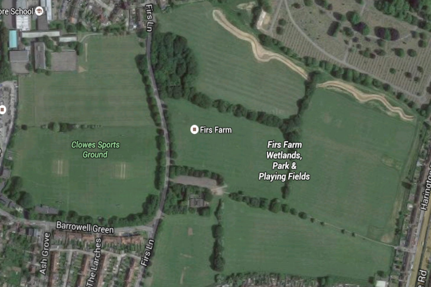 Firs Farm 11 a side | Grass football pitch