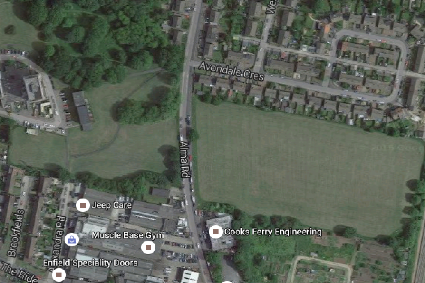 Alma Road Recreation Ground 11 a side | Grass football pitch