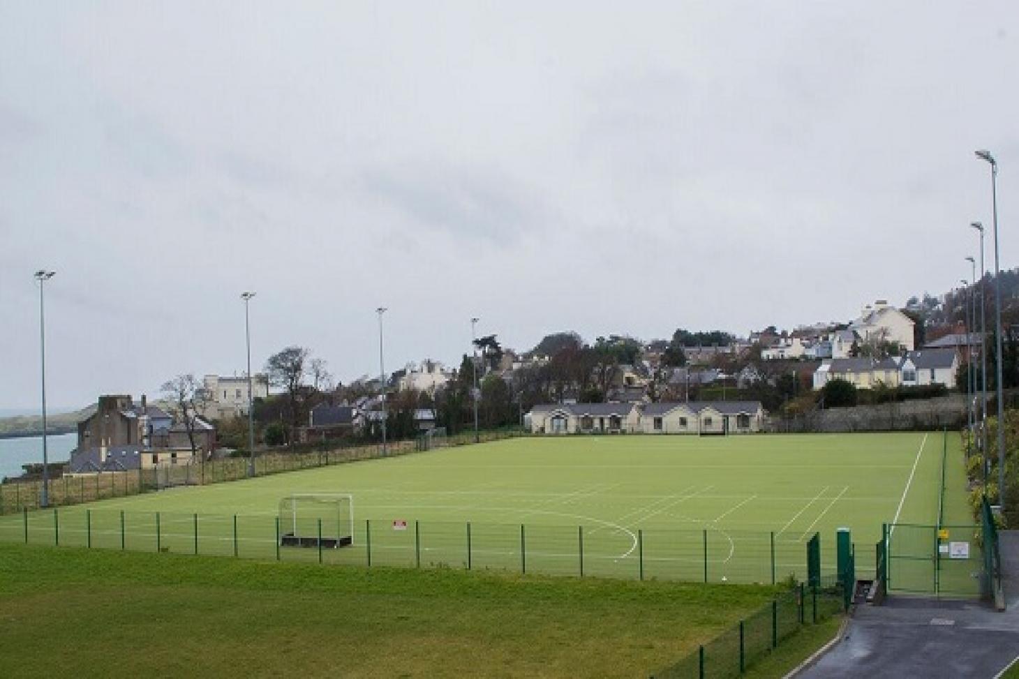Loreto Abbey Sports Hall Outdoor | Astroturf hockey pitch