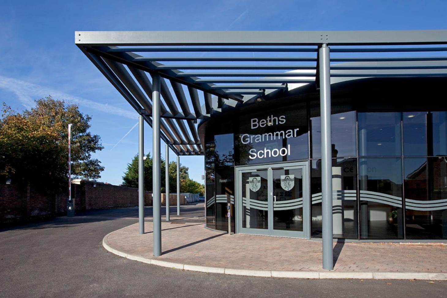 Beths Grammar School Indoor | Hard badminton court