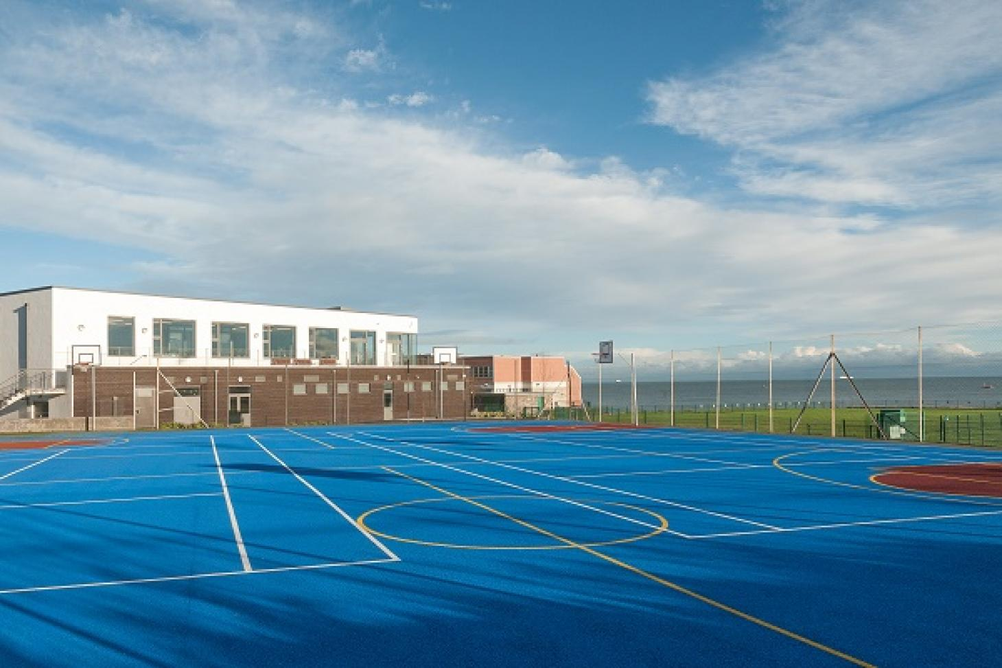 Loreto Abbey Sports Hall Outdoor | Hard (macadam) basketball court