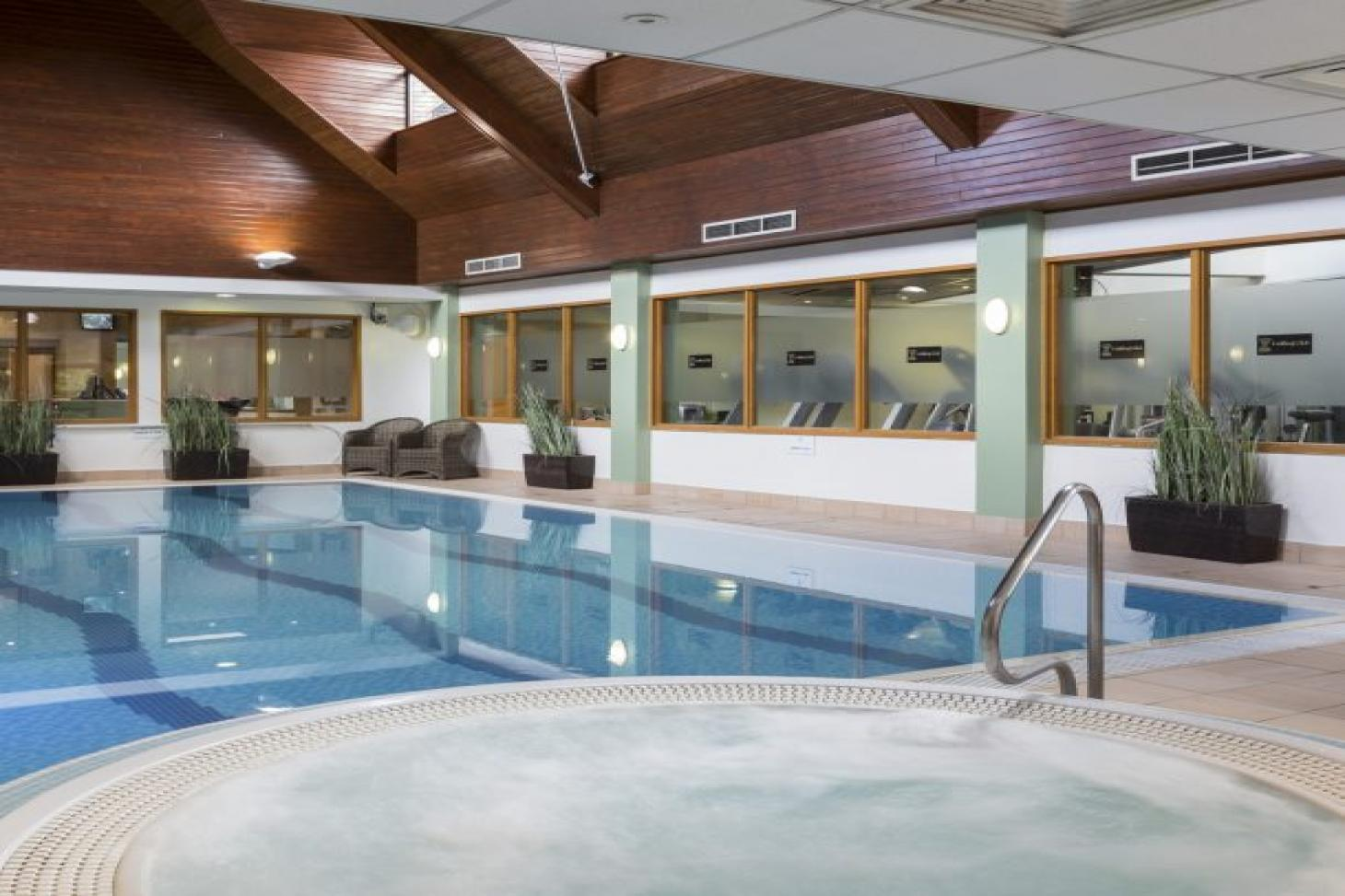 Club at Oakley Court Indoor swimming pool