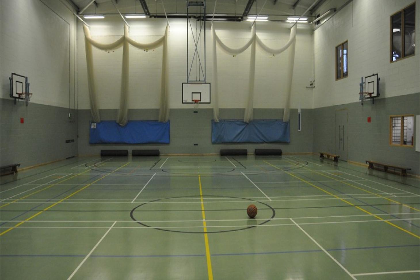 Richard Challoner School Indoor basketball court