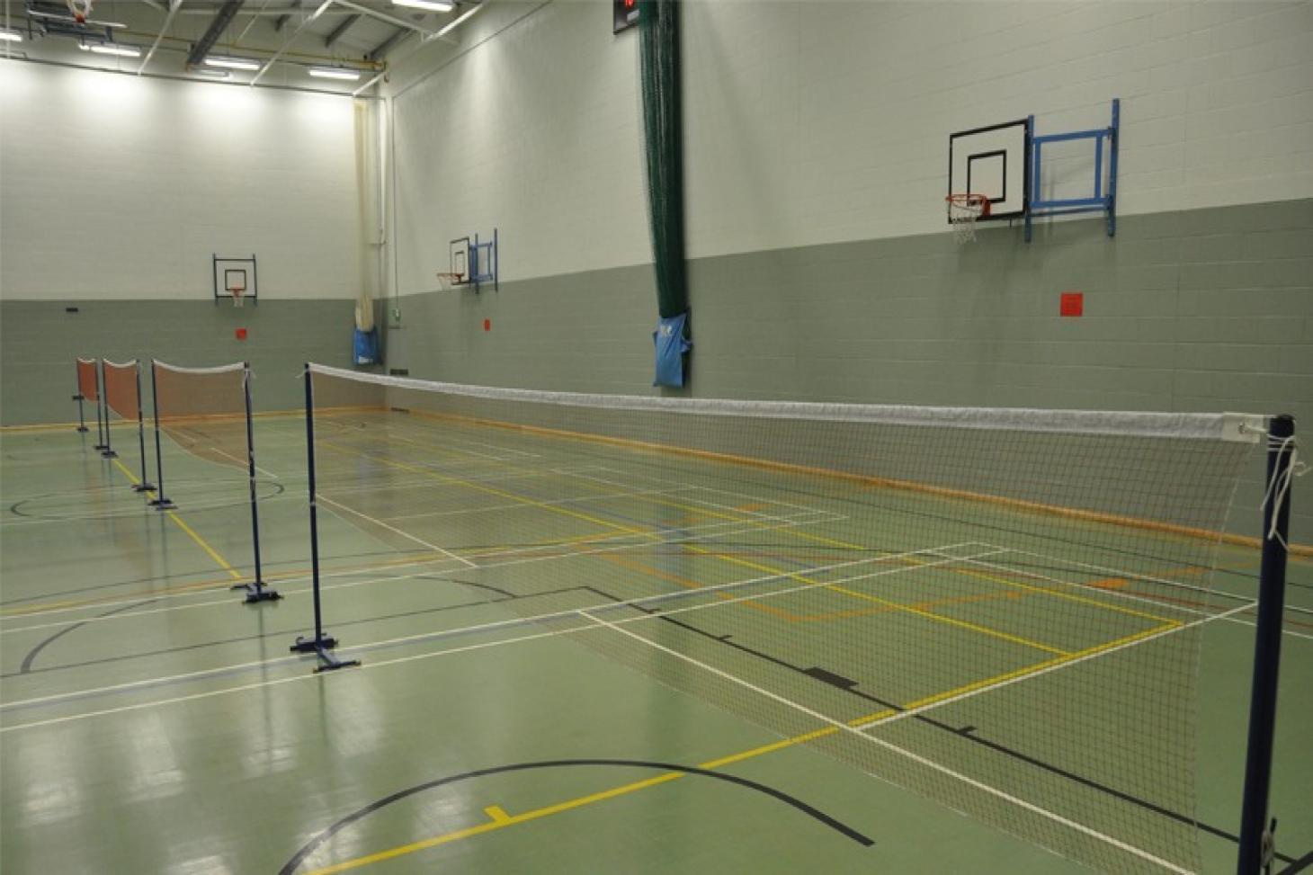 Richard Challoner School Indoor | Hard badminton court
