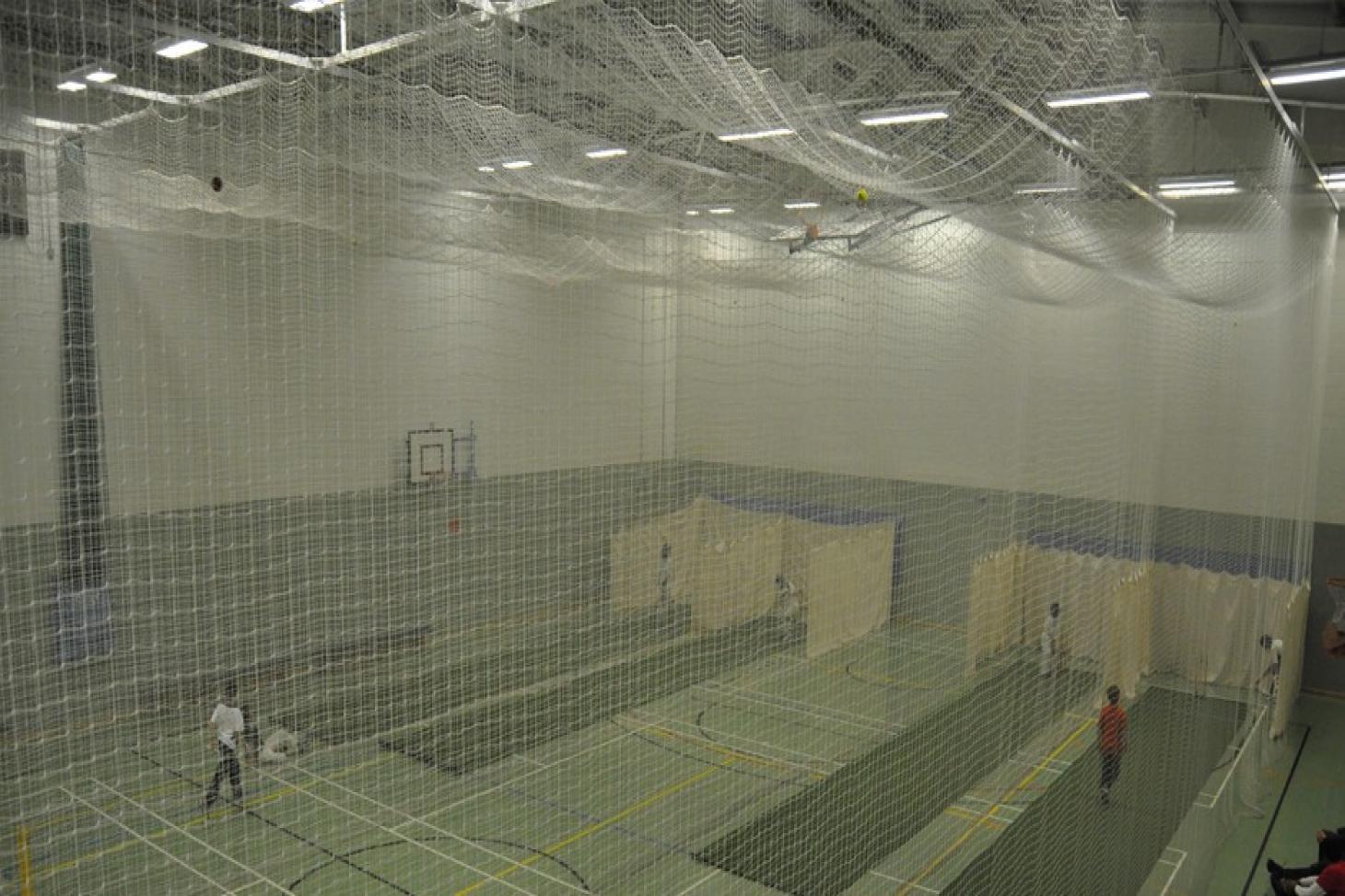 Richard Challoner School Nets | Sports hall cricket facilities