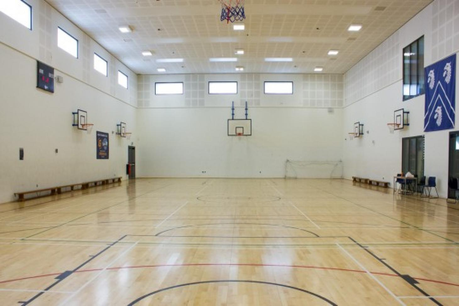 Raines Foundation School Indoor netball court