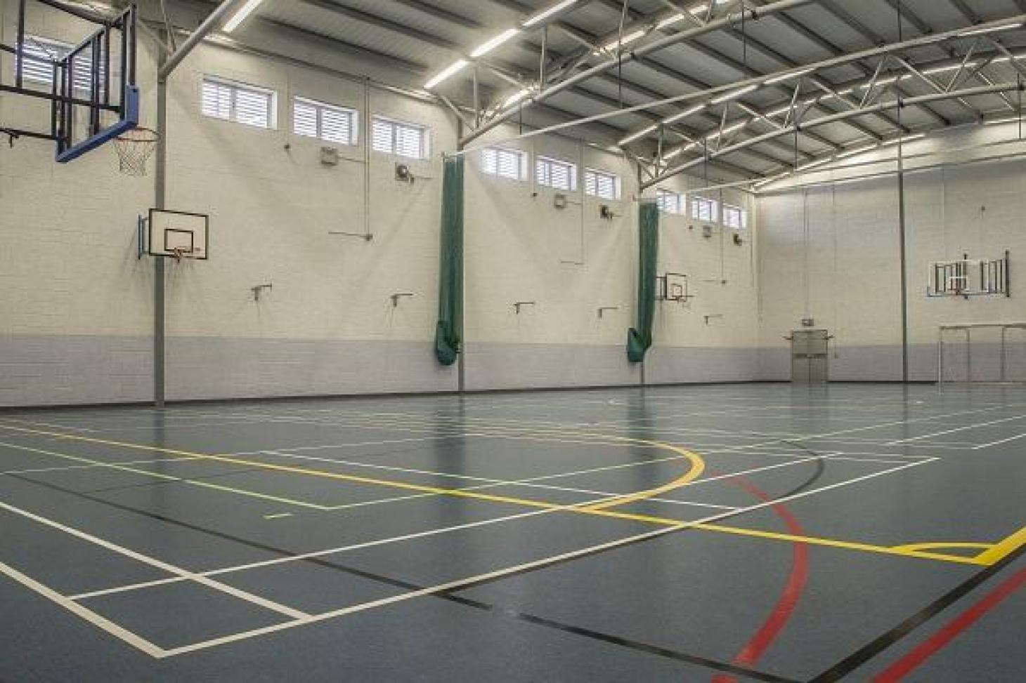 Corduff Sports Centre Indoor futsal pitch