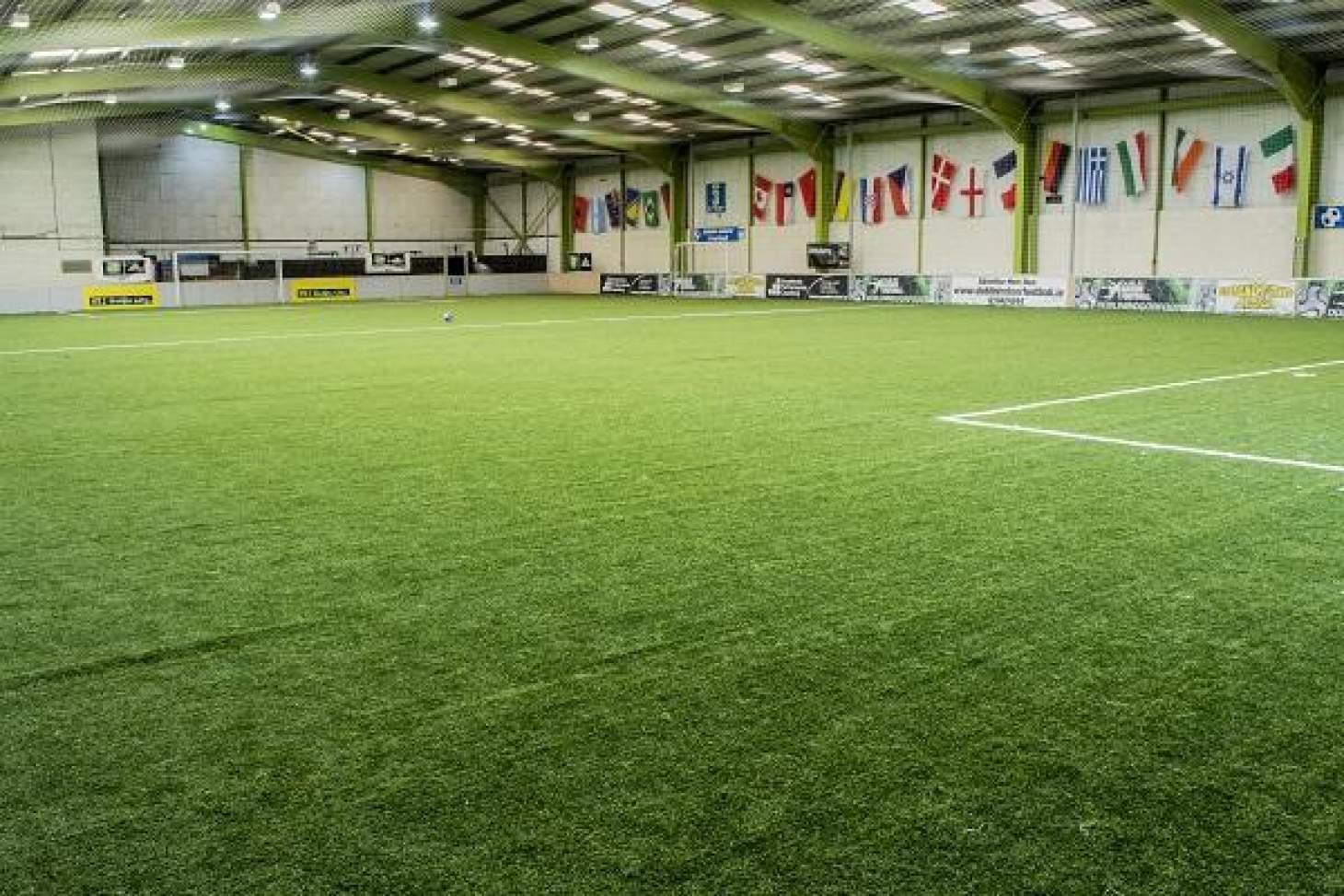 Dublin Indoor Football 9 a side | 3G Astroturf football pitch