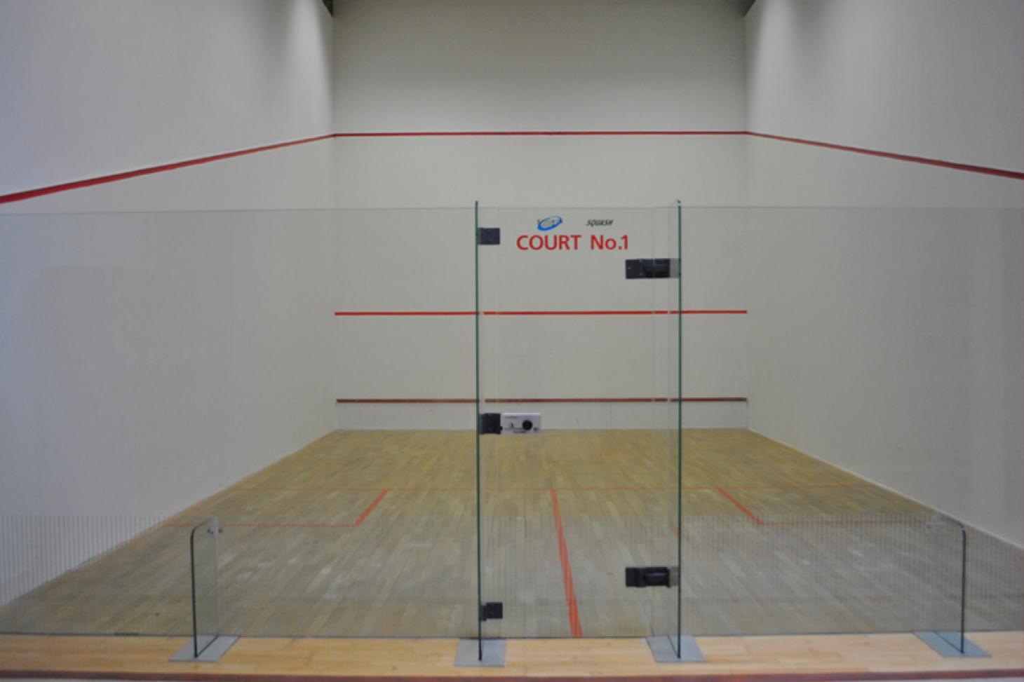 Sportslink Indoor   Hard squash court