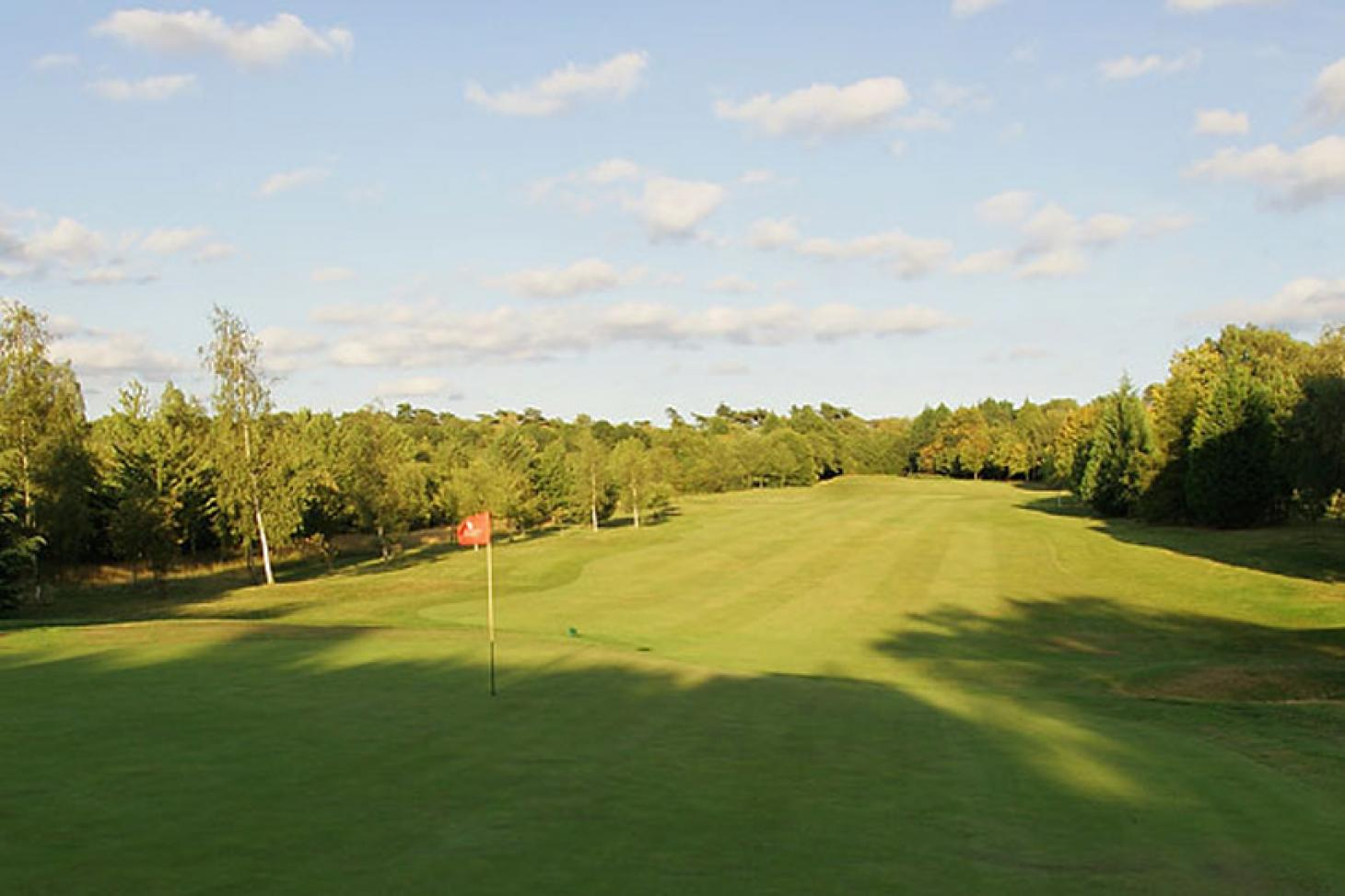Woodcote Park Golf Club 18 hole golf course
