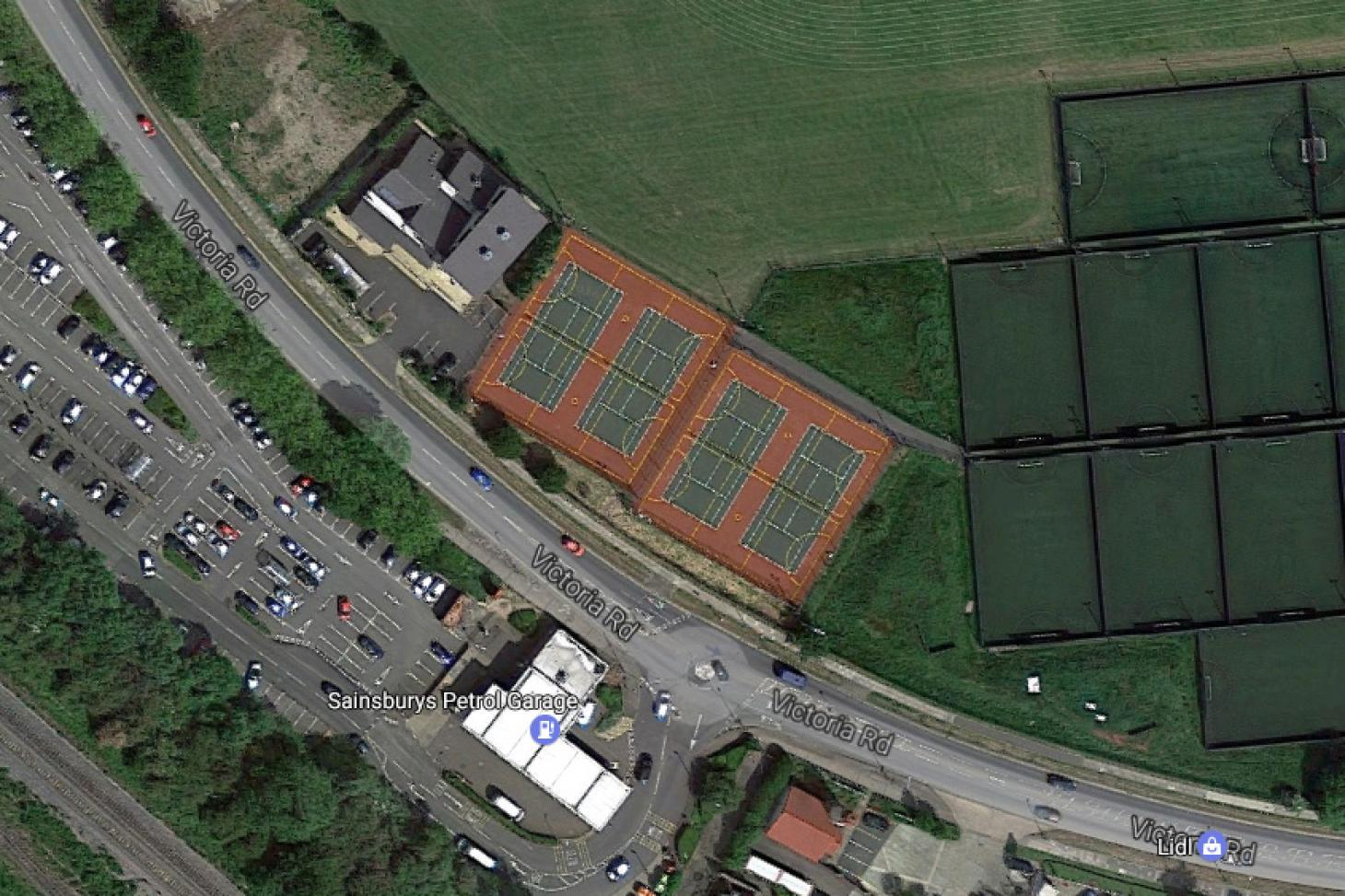 Queensmead Sports Centre Outdoor | Hard (macadam) netball court