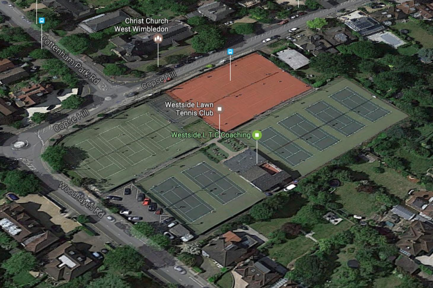 Westside Lawn Tennis Club Outdoor | Hard (macadam) tennis court