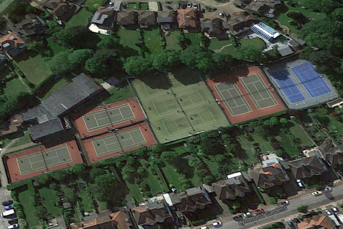 Finchley Manor Tennis, Squash And Health Club Outdoor | Astroturf tennis court
