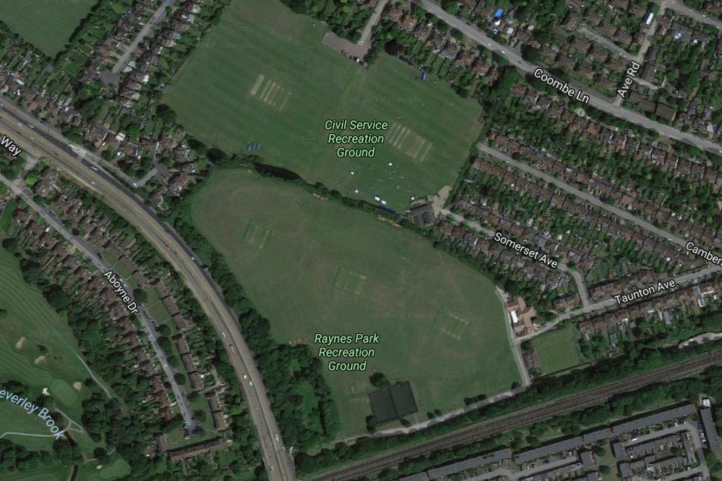 Raynes Park 11 a side | Grass football pitch