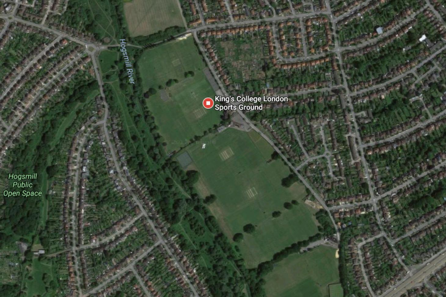 King's College Sports Ground - New Malden 11 a side | Grass football pitch
