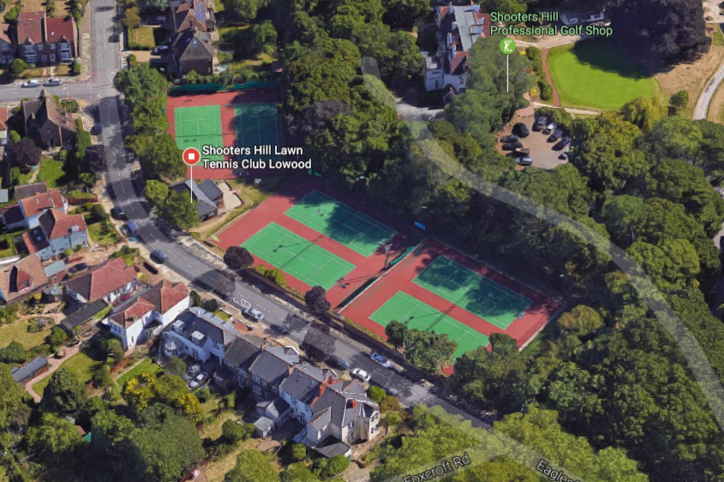 Shooters Hill Lawn Tennis Club Outdoor | Hard (macadam) tennis court