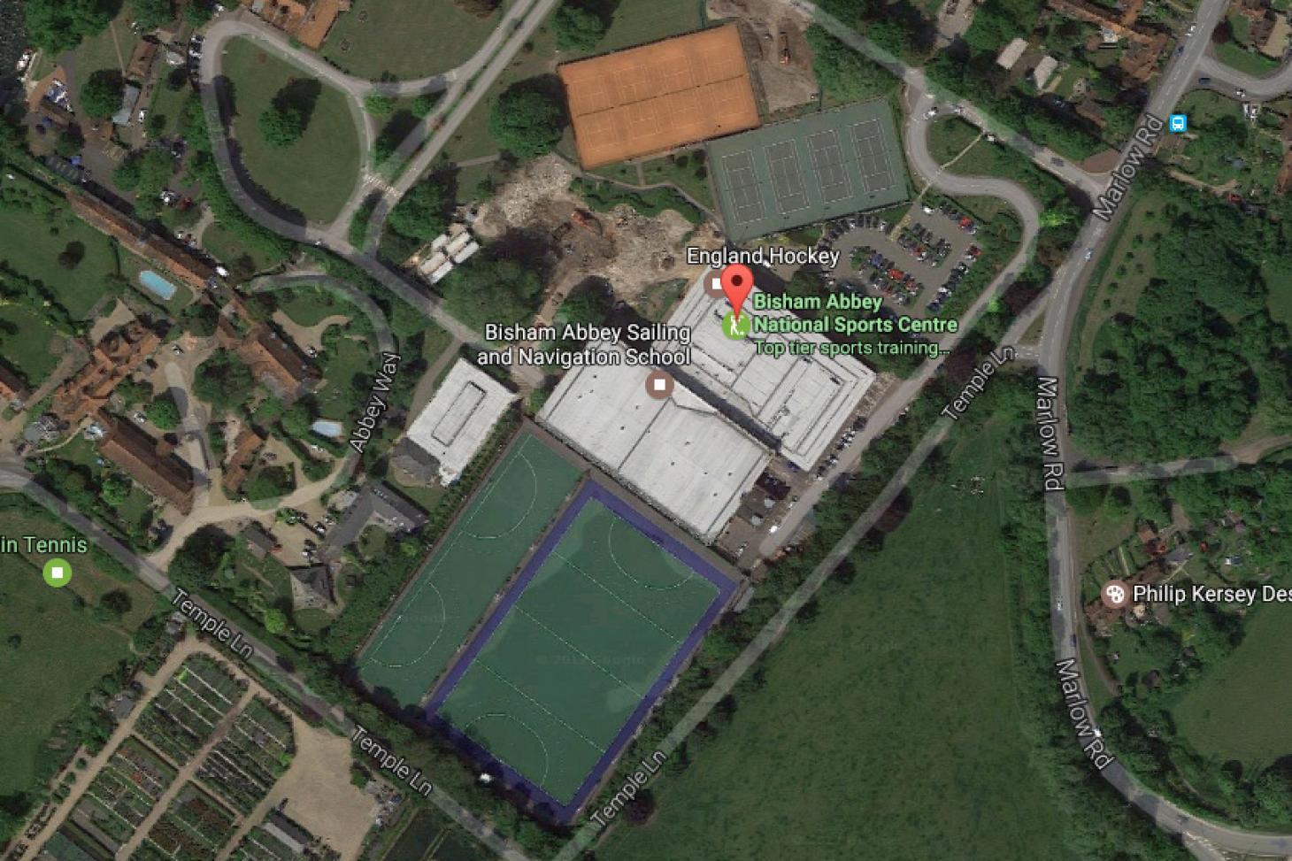 Bisham Abbey National Sports Centre Outdoor   3G Astroturf hockey pitch