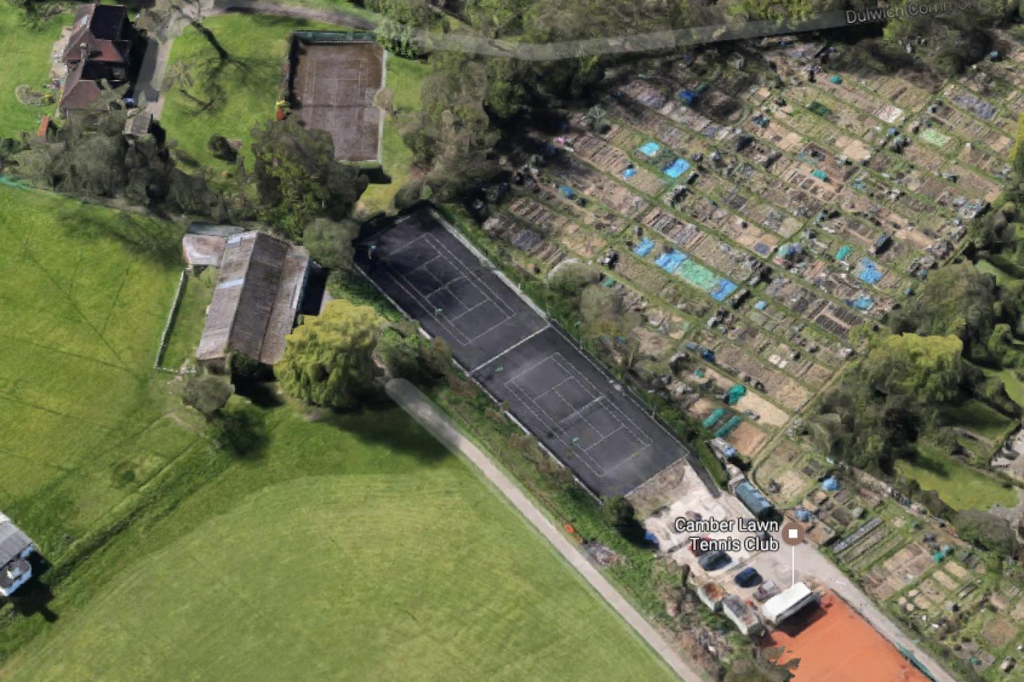 Camber Lawn Tennis Club Outdoor | Hard (macadam) tennis court