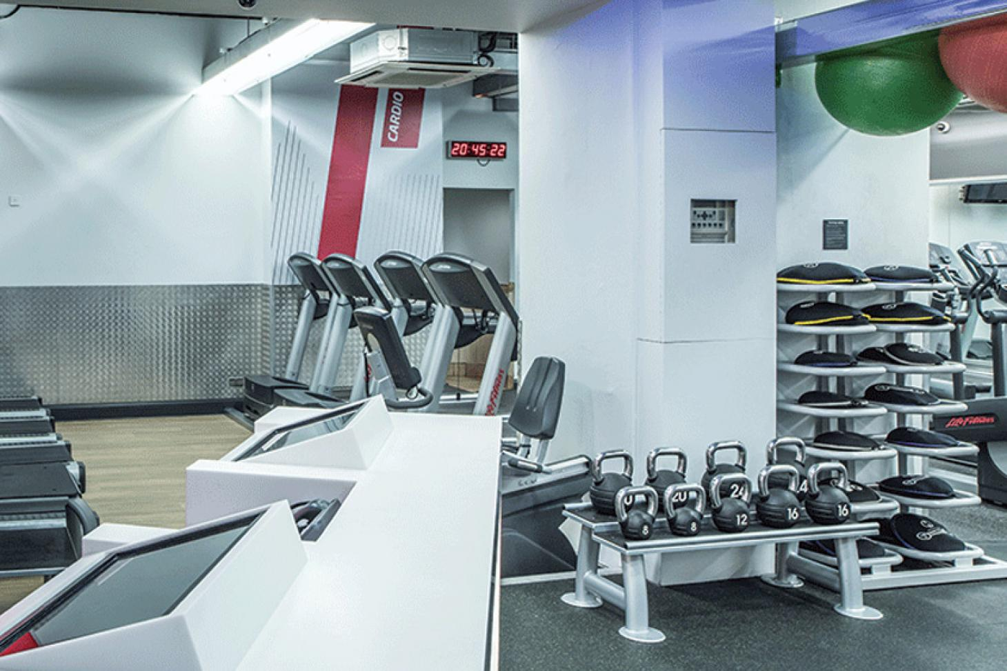 Fitness First Victoria Cardinal Place Gym gym