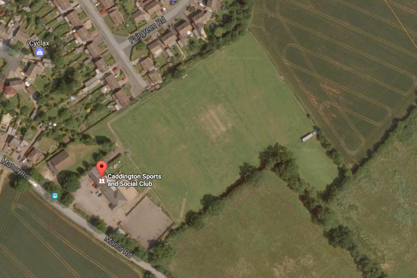 Caddington Sports and Social Club 11 a side | Grass football pitch