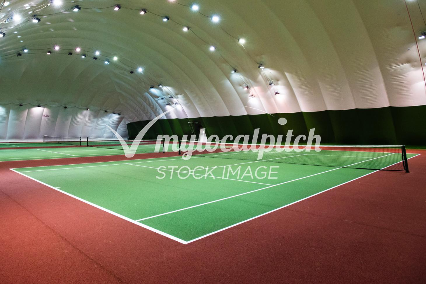 Notting Hill Harbour Club Indoor tennis court