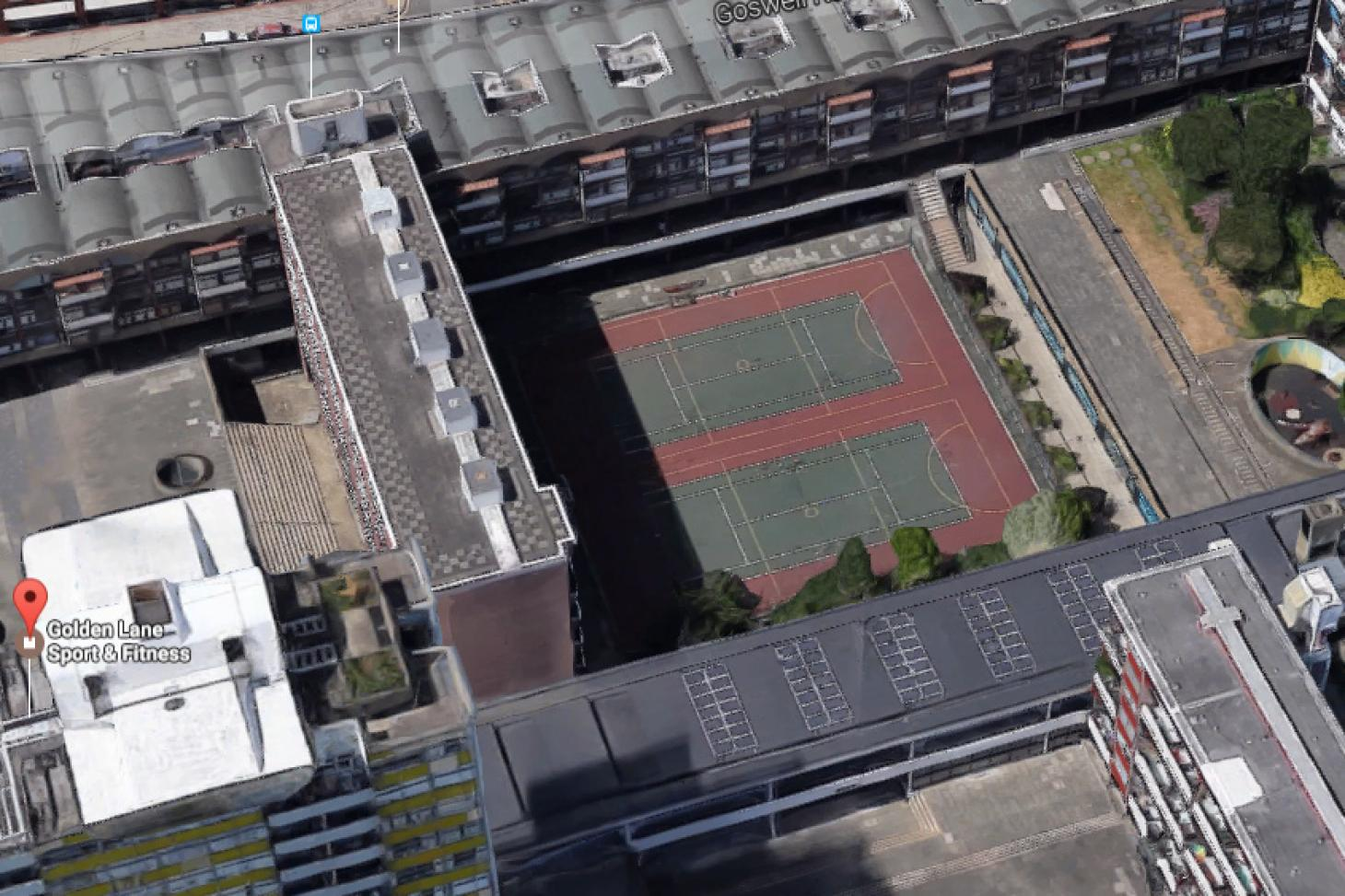 Golden Lane Leisure Centre Outdoor | Hard (macadam) netball court
