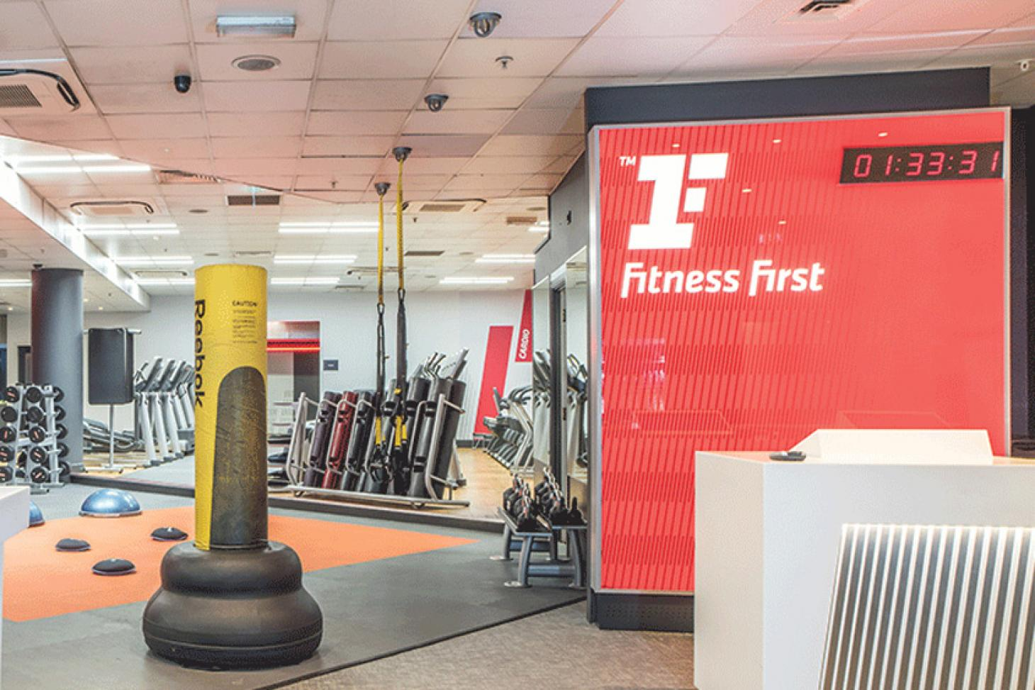 Fitness First Kingly Street Gym gym