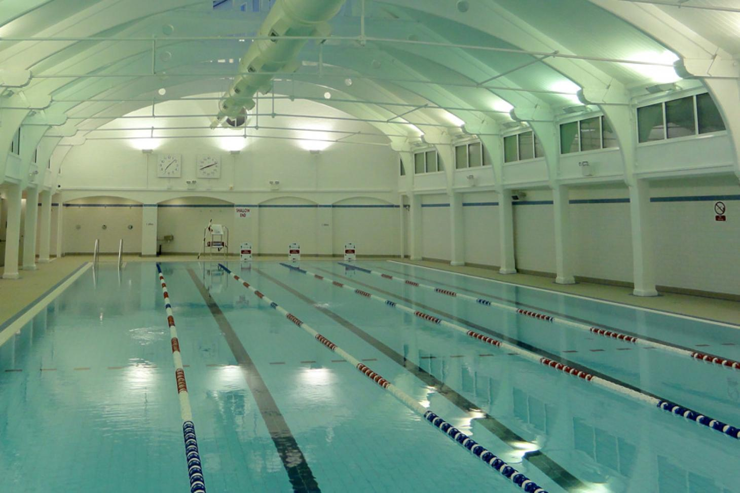 Dulwich Leisure Centre Indoor swimming pool