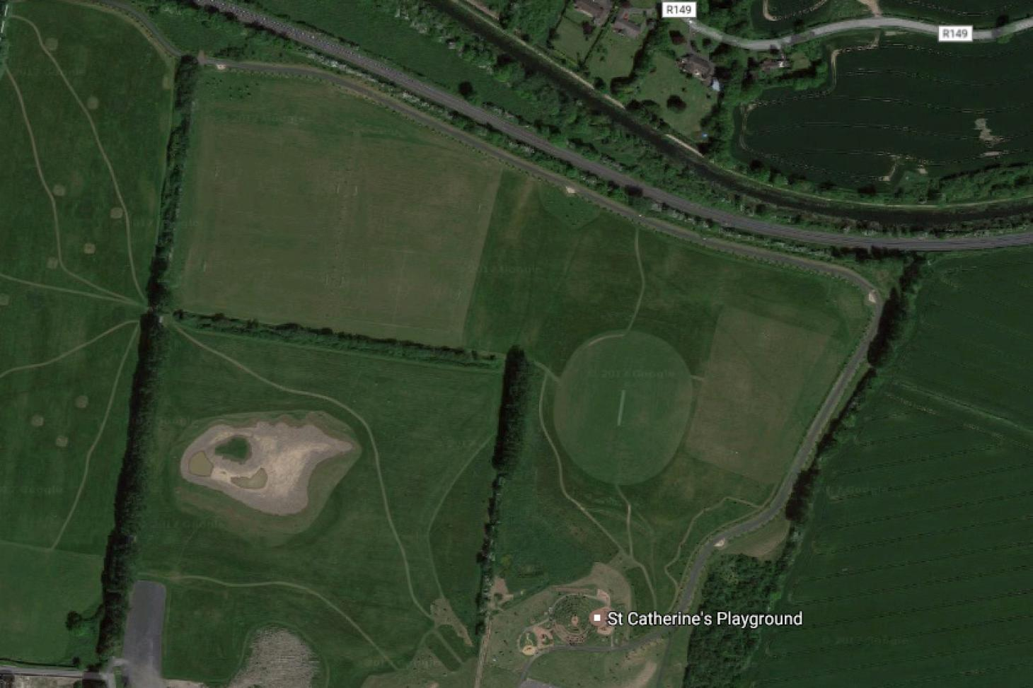 St Catherines Park Full size | Grass cricket facilities