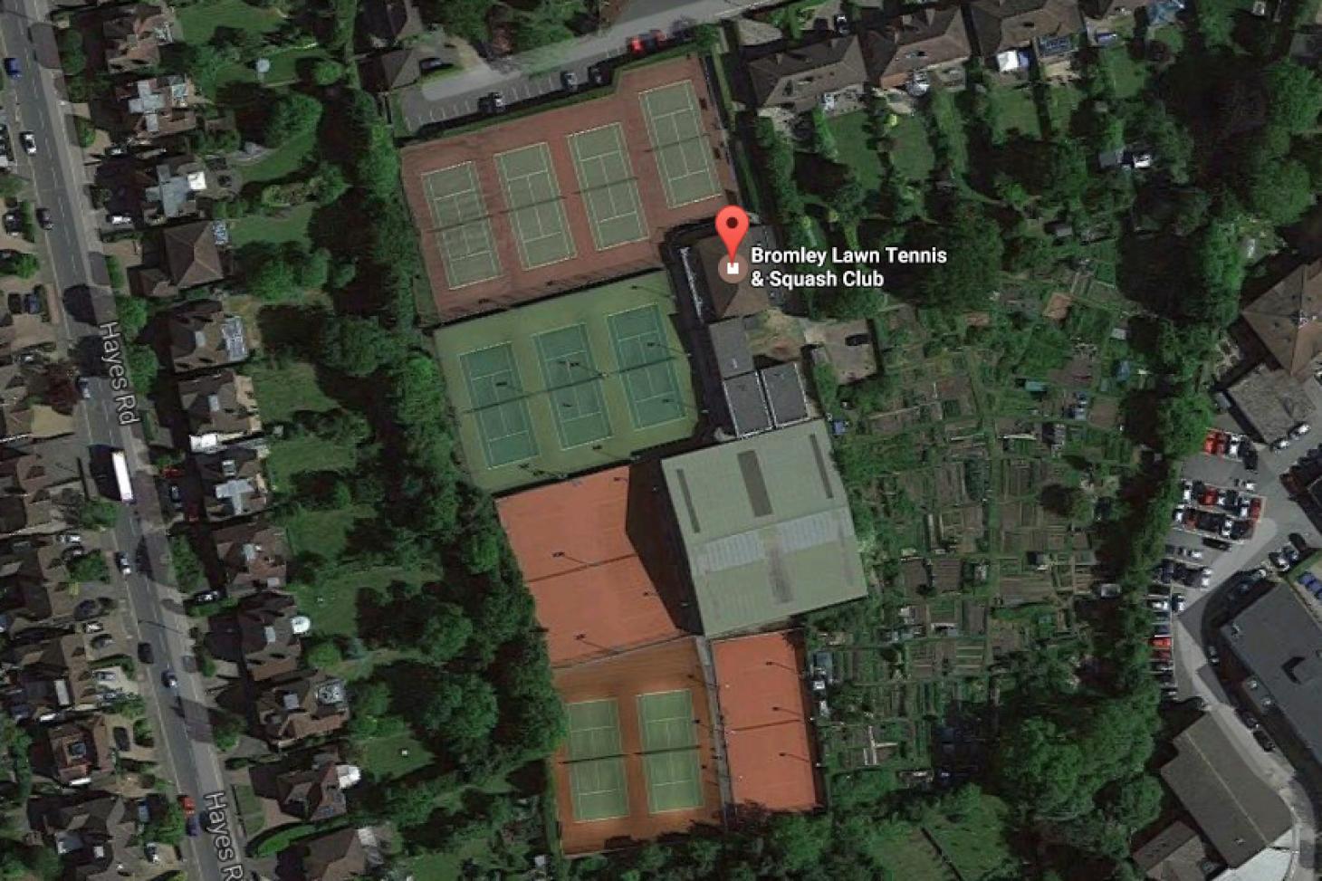 Bromley Lawn Tennis and Squash Club Outdoor   Hard (macadam) tennis court