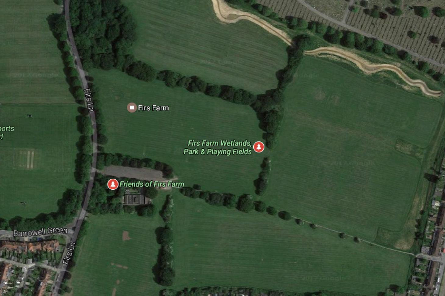 Firs Farm Union   Grass rugby pitch