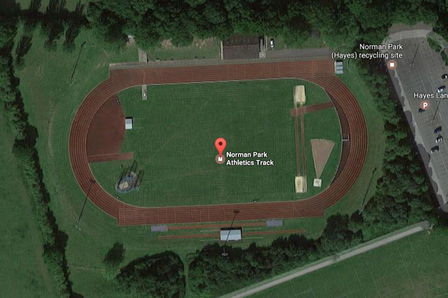Norman Park Athletics Track Outdoor | Synthetic rubber athletics track