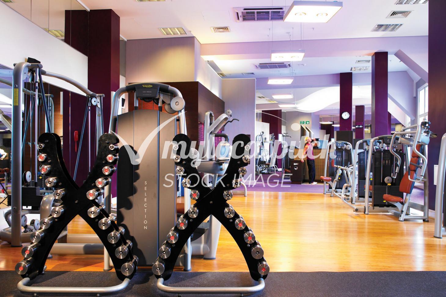 Oakley Fitness Indoor gym